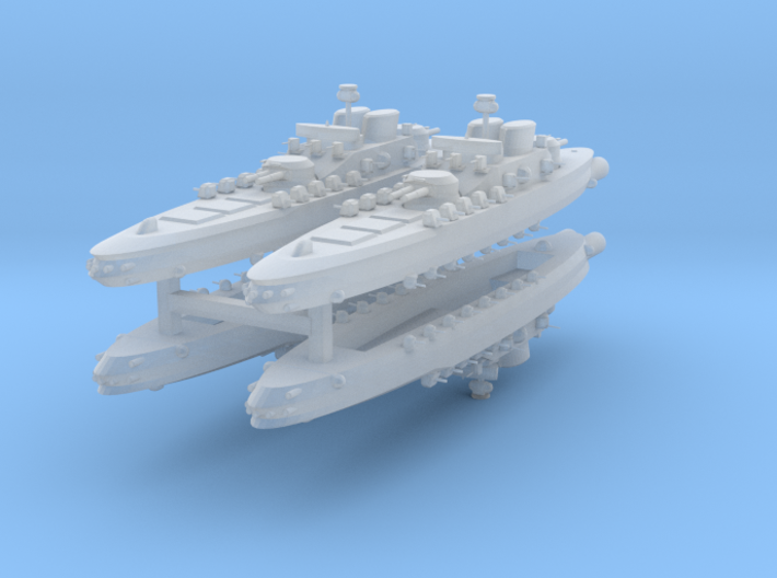 Aerial Sovereign 1:2400 x4 3d printed