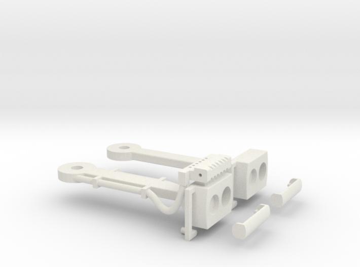 Magnet - Scharfenbergkupplung Tatra -Bw IIm/LGB 3d printed