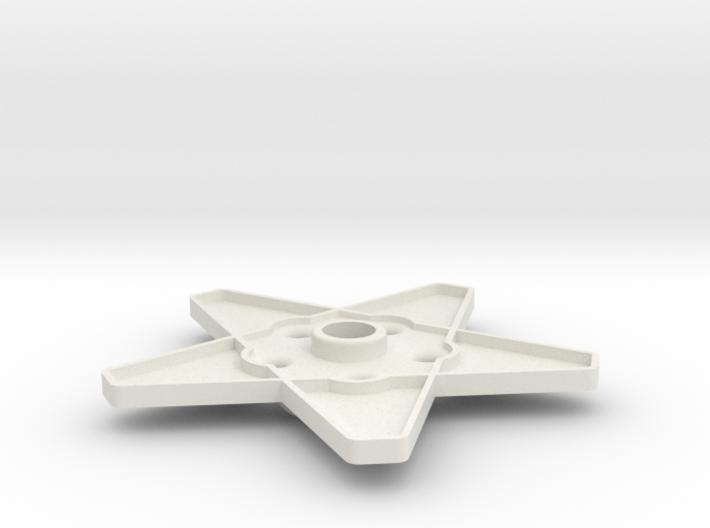XMAS STAR 308 WHEEL120 MM 3d printed