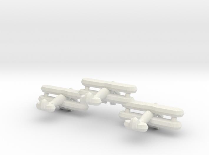 Sea Gladiator (Triplet) 1:900 3d printed