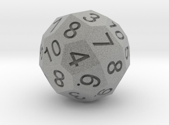 Pentagonal Hexatriacontahedron Dual D6 3d printed