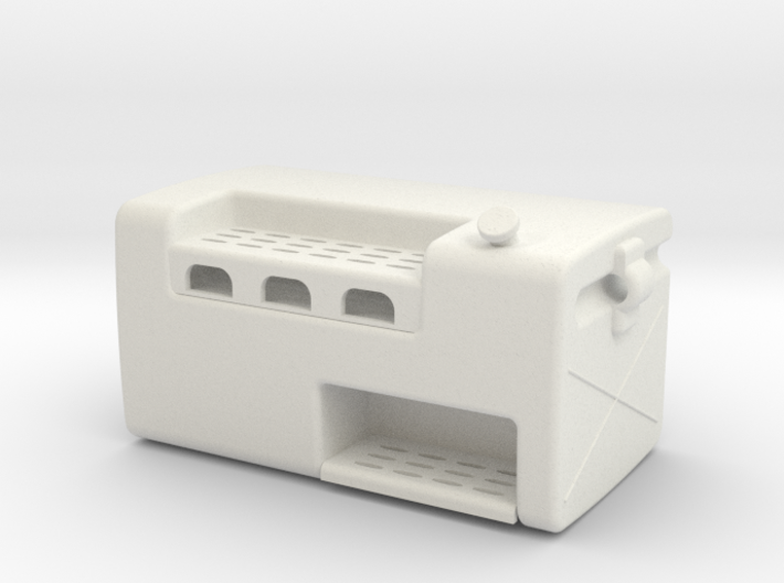 Fuel-tank-small LH-double-step 3d printed