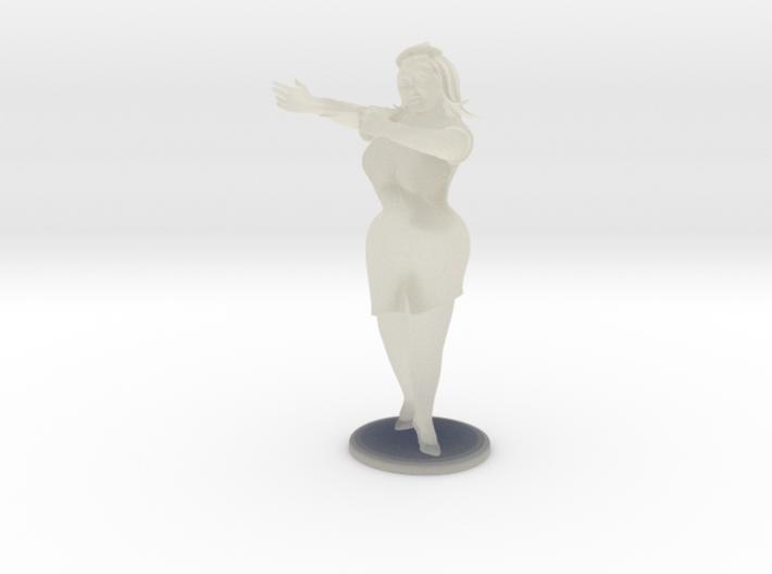 Sexy Nurse 3d printed
