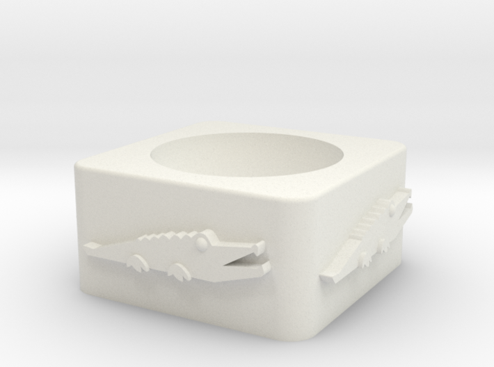 Croc Cup Shelled 3d printed