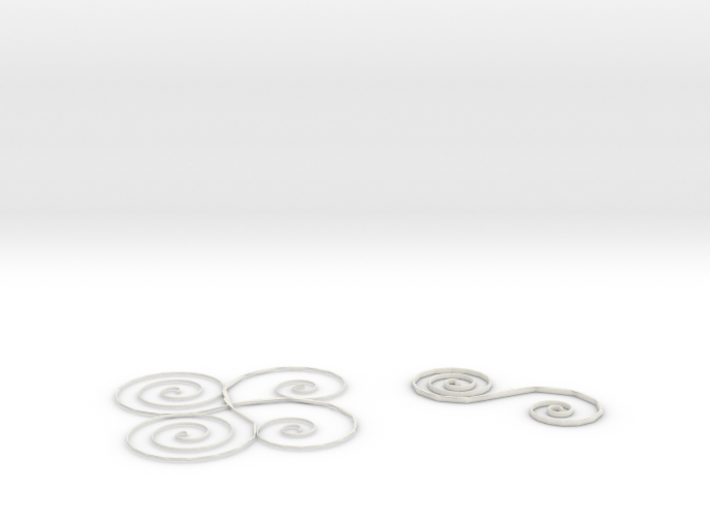 sacred geometry | sun farm spirals 3d printed