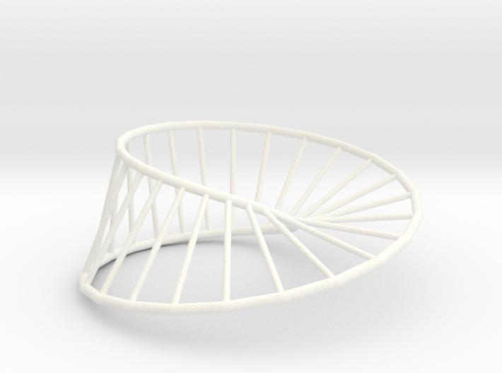 Moebius Line   Napkin Ring 3d printed