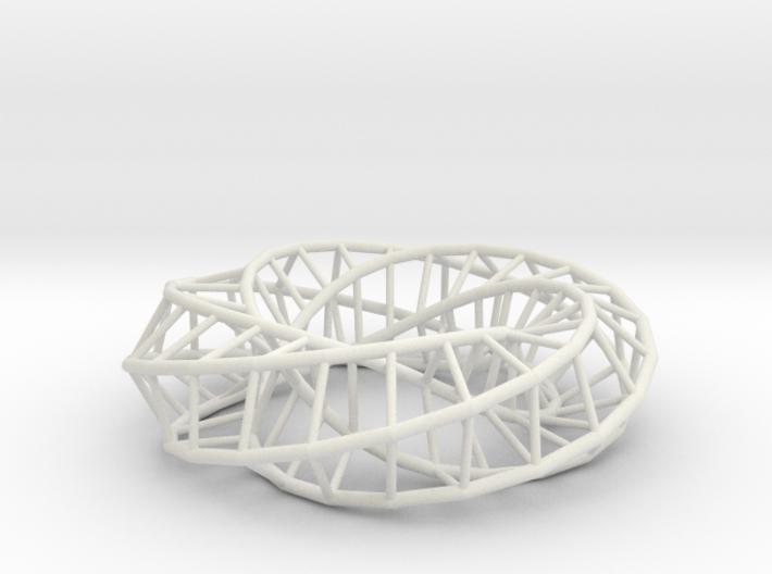 Moebius Pentagon | Napkin Ring 3d printed