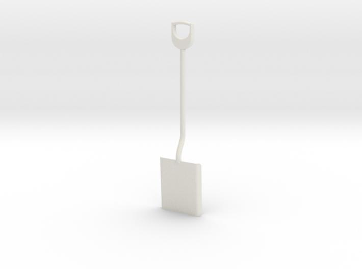 Shovel, 1/8 scale 3d printed