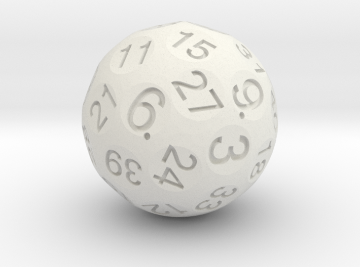 Trucated D40 3d printed