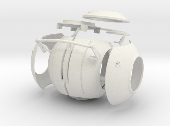 Space Core parts (V2) 3d printed