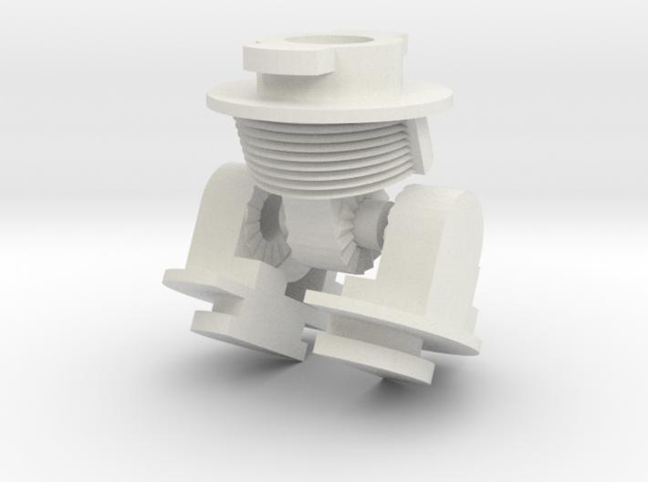 Robot V Hips 3d printed