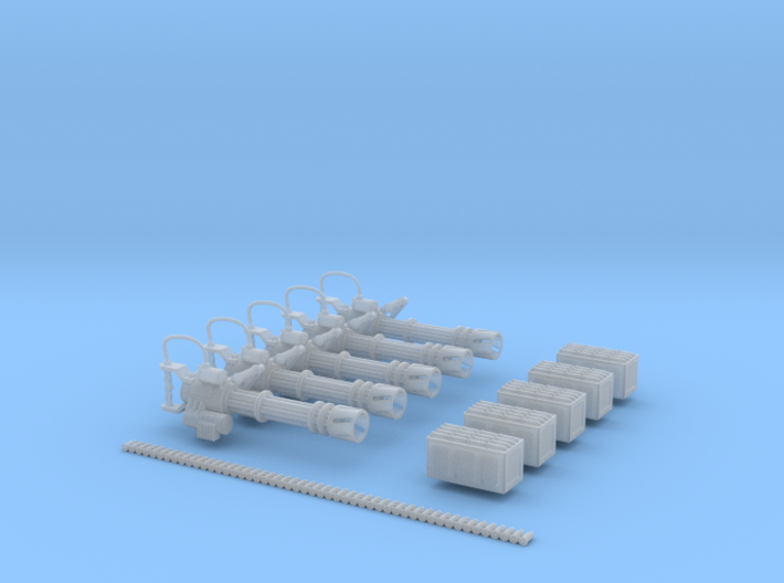 Barrage MG (Set of 5) 3d printed