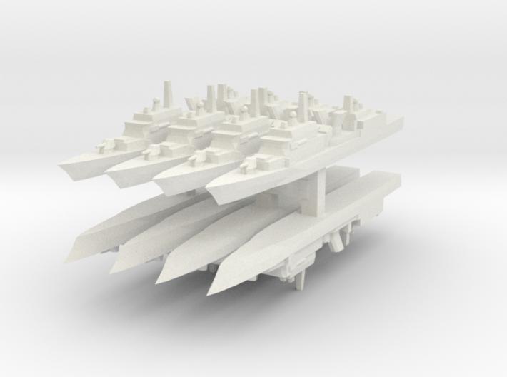 KDX-I 1:6000 x8 3d printed