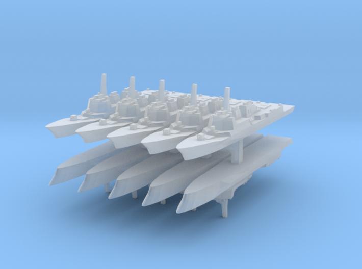 KDX-III 1:6000 x10 3d printed