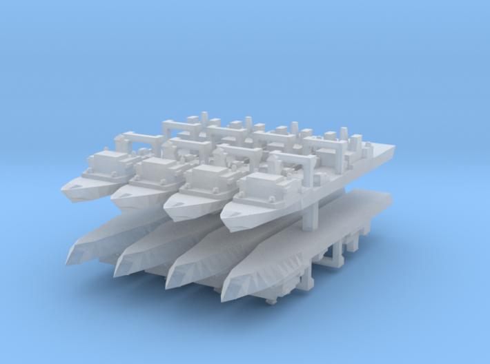 Qiandaohu / Fuchi Class 1:6000 x8 3d printed