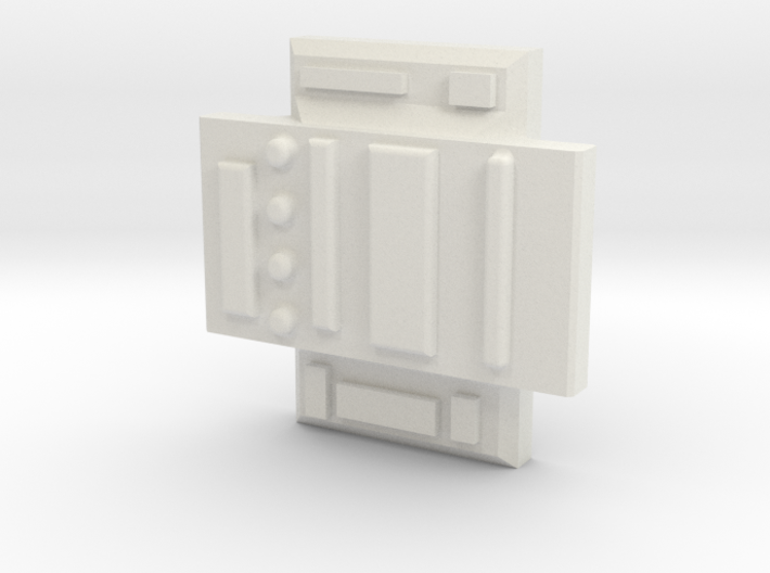 Colonial Defender Cross Piece 3d printed