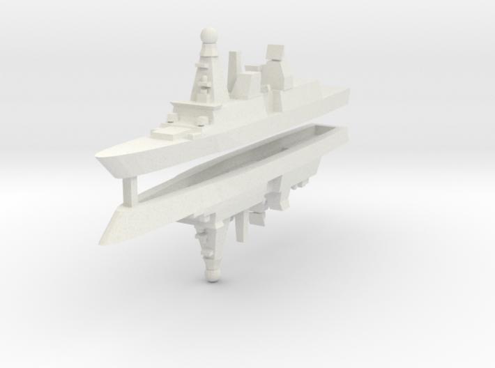 Horizon CNGF 1:3000 x2 3d printed