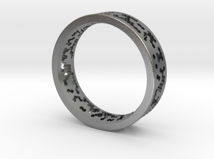 Math Ring v8 3d printed