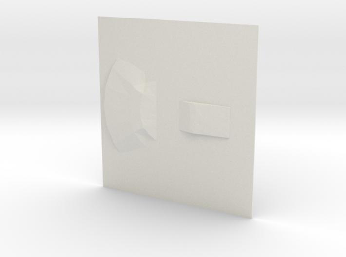 UFO base3 3d printed