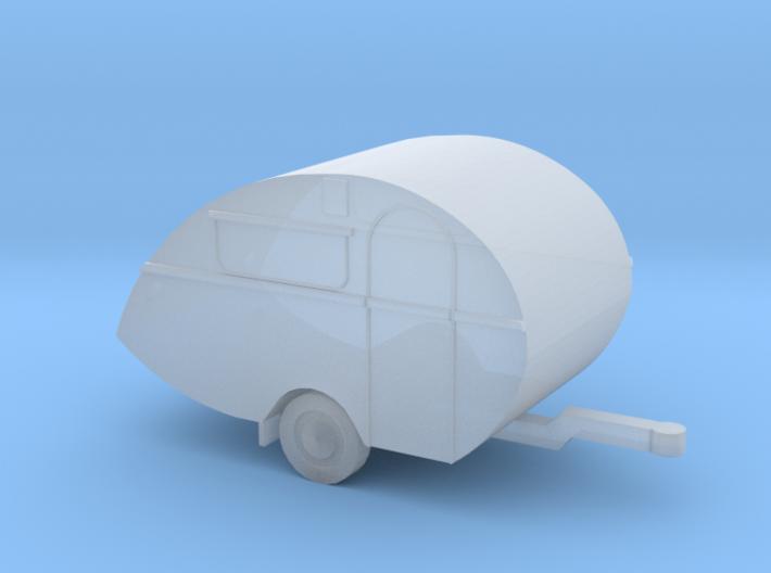 Wohnwagen in 1:220 für Spur Z 3d printed