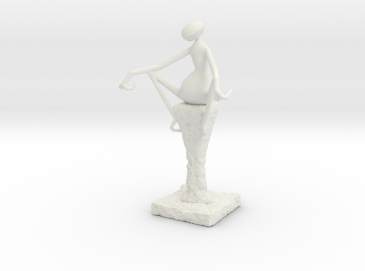 Abstract Figurine 3d printed