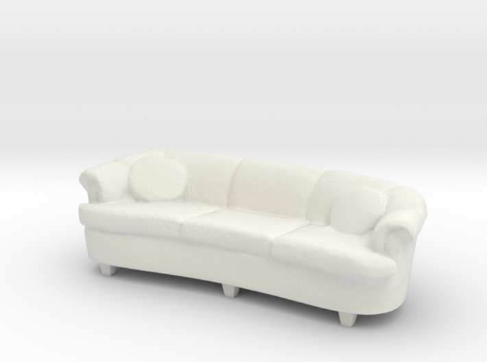1:24 Curved Sofa 3d printed