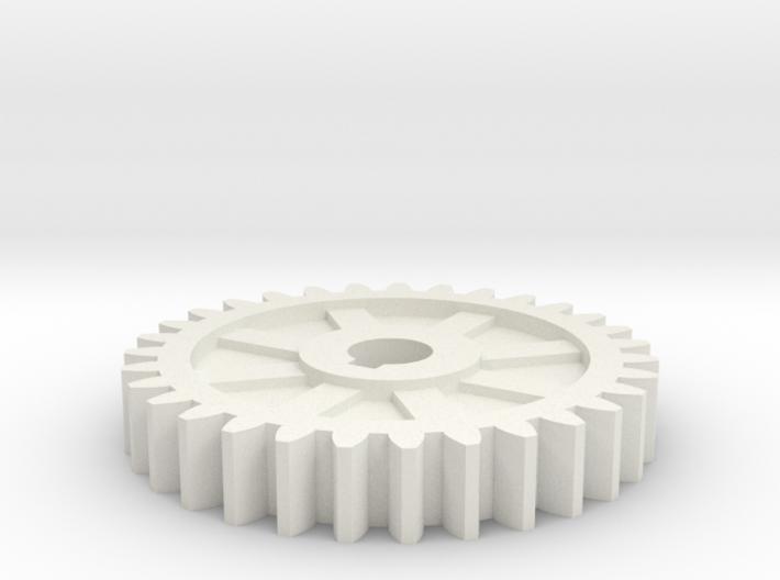 gear mill 3d printed