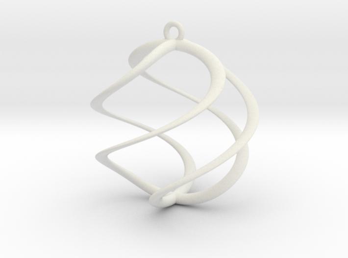 Spiral Pendant 1 3d printed