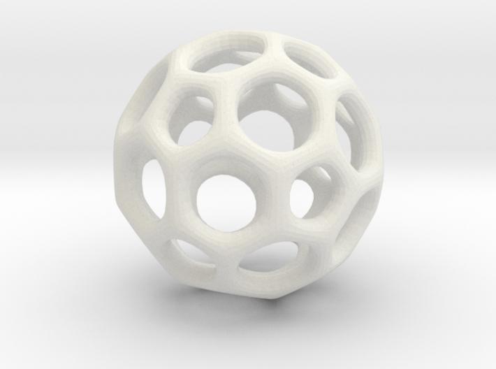 Soccerball frame - 3.1 cm 3d printed