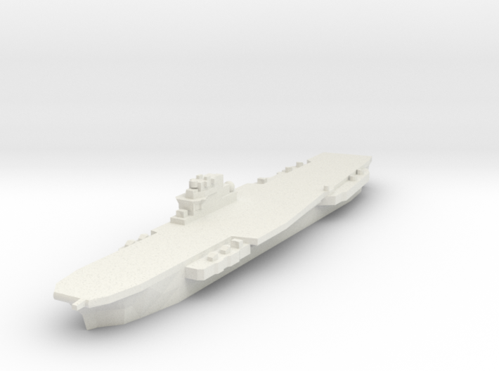 Clemenceau Carrier 1:2400 x1 3d printed