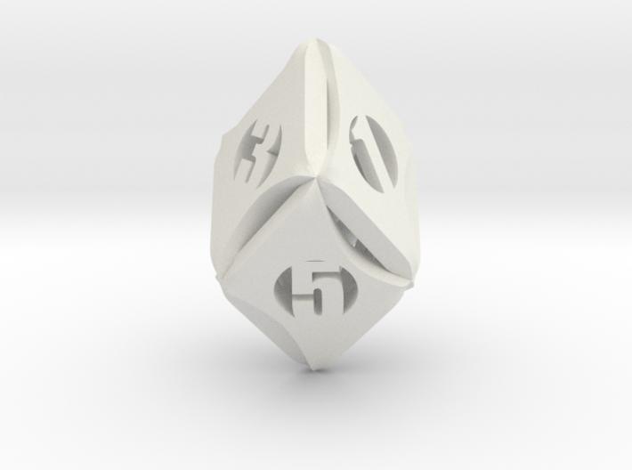 Flash-Rhombic d6 3d printed