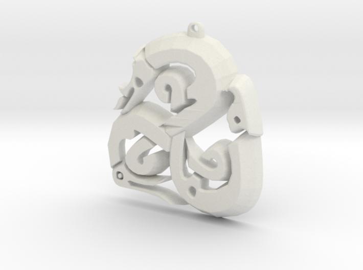 Viking Triskle 3d printed