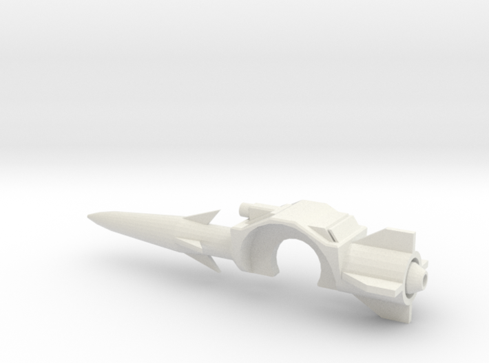 Classics Mirage shoulder launcher 3d printed