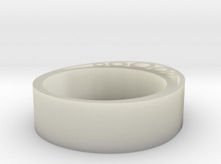 Secret Egg Ring (Small) 3d printed