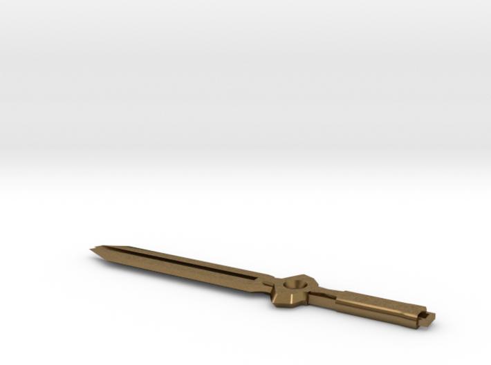 Darker Than Black Sword 3d printed