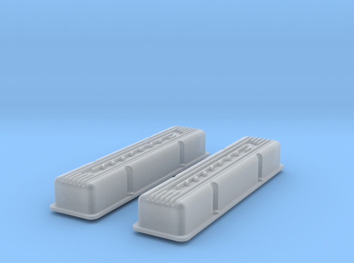1/12 SBC Corvette Valve Covers 3d printed