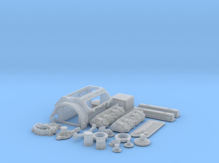 1/16 Scale Buick Nailhead Basic Block Kit 3d printed
