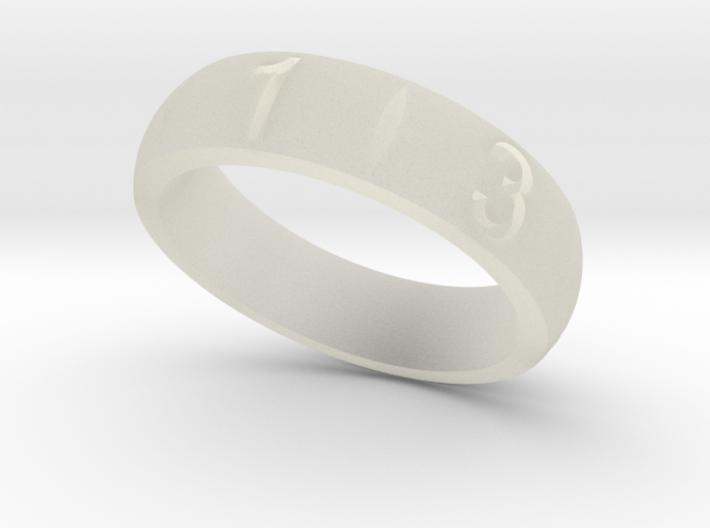 D6 Ring 3d printed