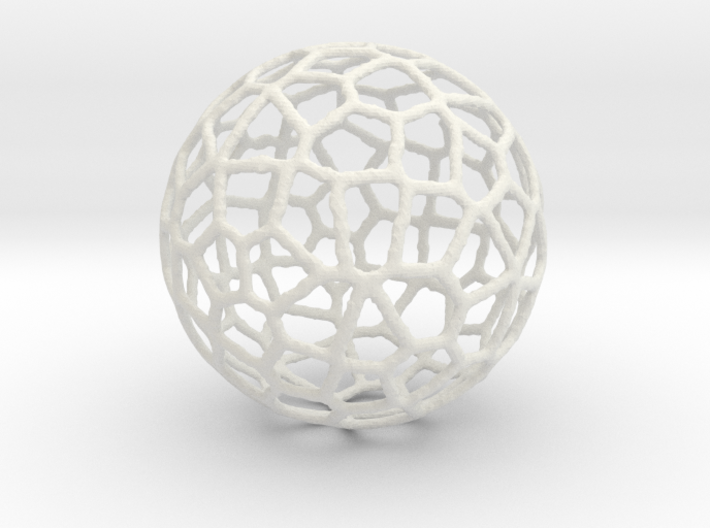 Alien Sphere Large (10cm) 3d printed