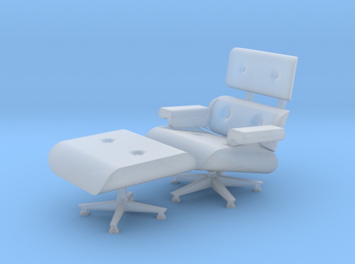 1:48 Eames Chair 3d printed