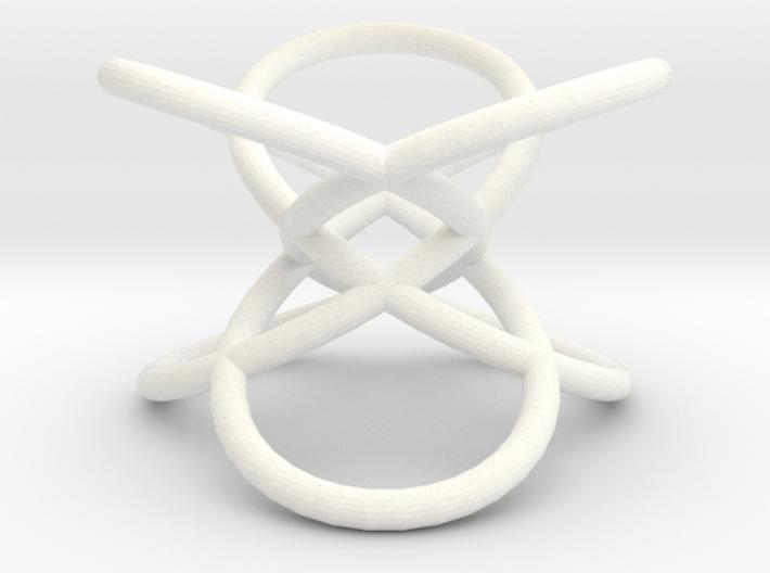Trefoil-mod1 3d printed