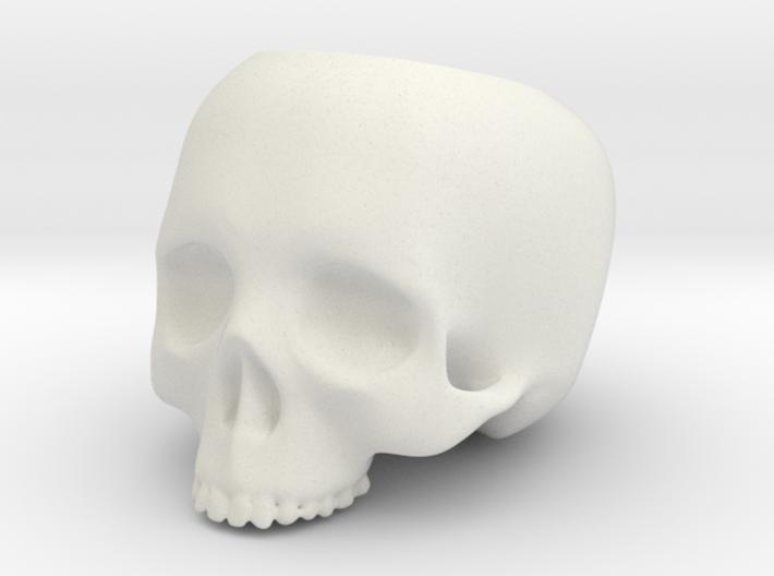 Skull Pot V2 - H60MM 3d printed