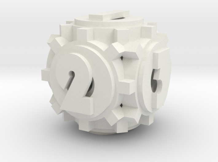 Gear Die 3d printed