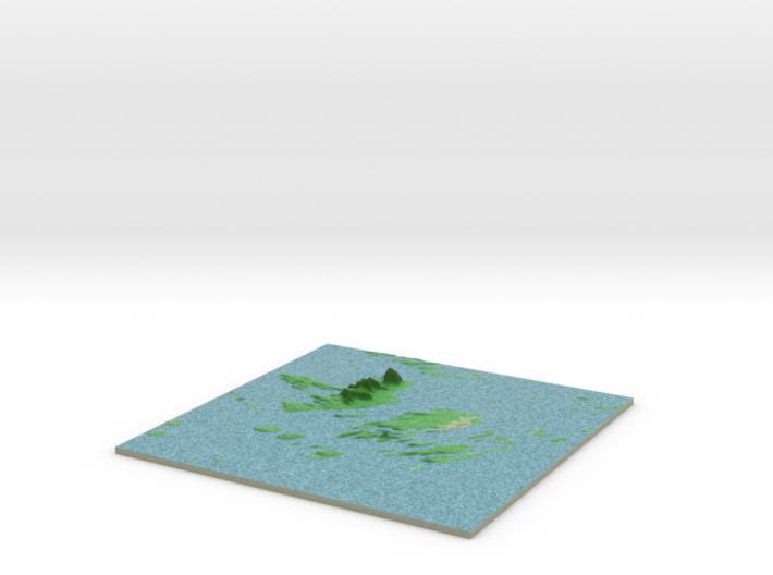 Terrafab generated model Thu Dec 26 2013 18:12:35 3d printed