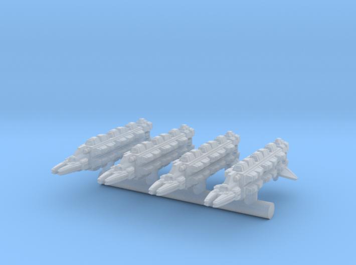 4 x kromag sprue 3d printed