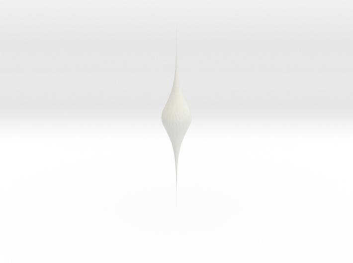 sech catenoid 3d printed