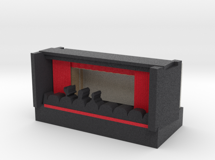 Dark Mystery Science Movie Theatre Iphone Theater 3d printed