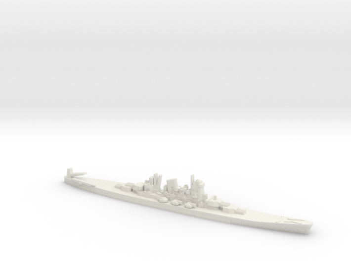 1/2400 Scale Never Were IJN 14500t Cruiser 3d printed