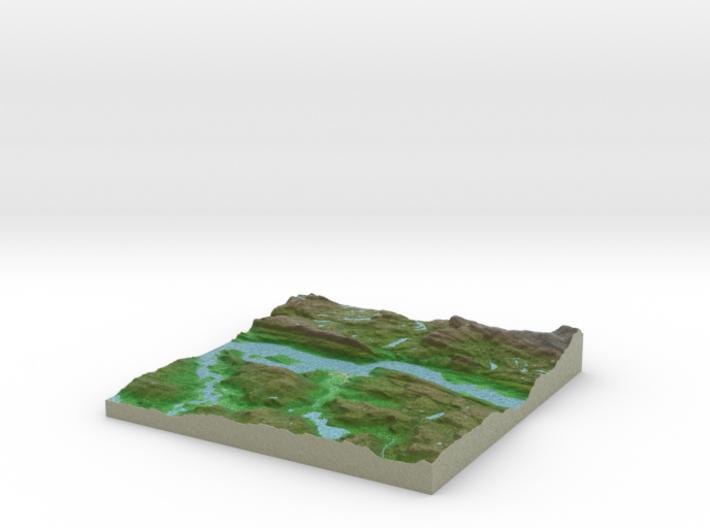 Terrafab generated model Wed Jan 22 2014 10:09:21 3d printed