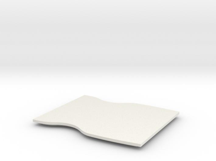 Mace Windu Belt Buckle Lid 1.0 3d printed